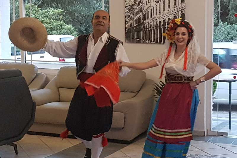 Traditional Greek Dancers